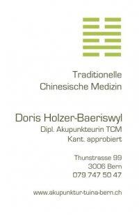 Doris Holzer - Akupunktur TCM, Shonishin, Reflexologie
